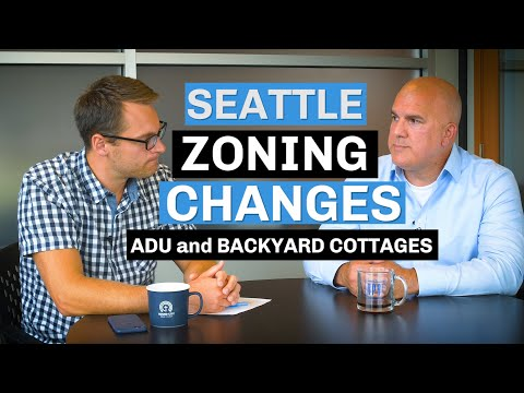 Seattle zoning changes ADU. DADU, and Backyard Cottages